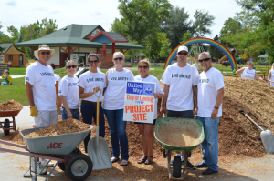 Day of Caring at Storybook Island